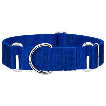 Country Brook Design | 1 1/2 Inch Martingale Heavyduty Nylon Dog Collar