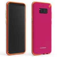 New OEM PureGear Slim Shell Sunset Pink Case For Samsung Galaxy S8+ Plus