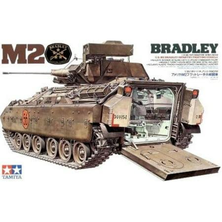 Tamiya Models Bradley M2 Ifv W/Interior 1/35 Military Land Vehicle Model Building Kits