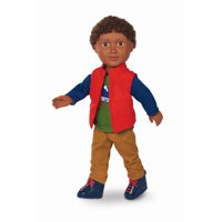 """My Life As 18"""" Poseable Outdoorsy Boy Doll, African American"""