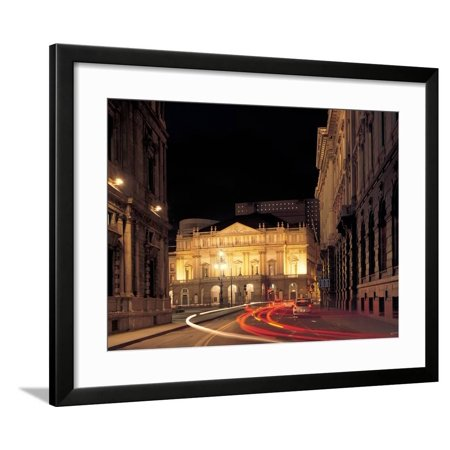 Views of the La Scala Theater After Its Restoration in 2004 Framed Print Wall Art By Botta Mario