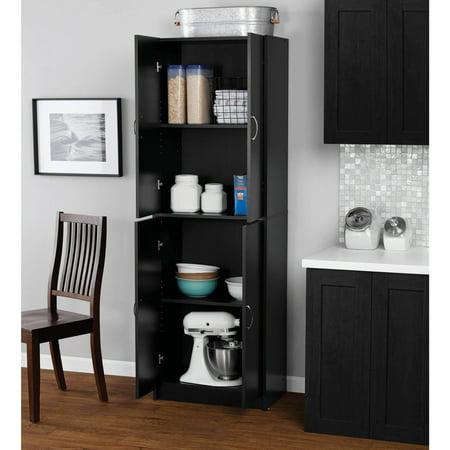 Mainstays 4-Shelf Multipurpose Storage Cabinet, Multiple Colors -  Walmart.com - Mainstays 4-Shelf Multipurpose Storage Cabinet, Multiple Colors