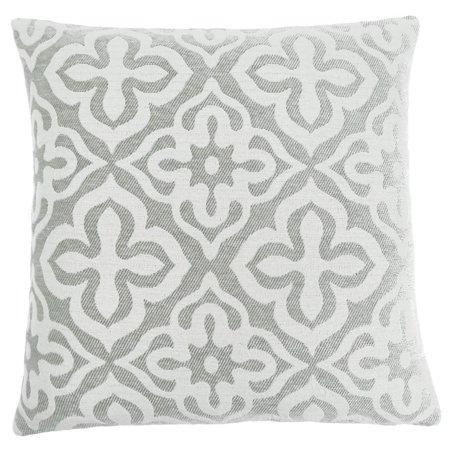 Monarch Motif Throw Pillow in Light -