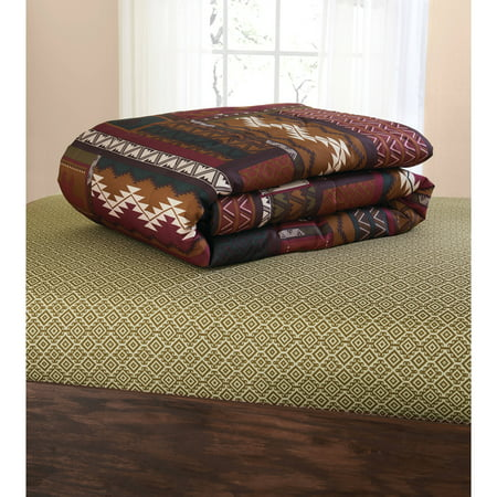 Southwest Cabin Bear Lodge Comforter Set 8 Piece Bed In A