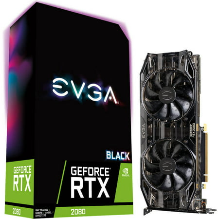 GeForce RTX 2080 BLACK EDITION GAMING 8GB GDDR6 Graphics (Best Dx11 Graphics Card)