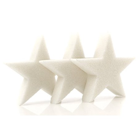 3-Pack Scum Star Oil Absorbing Sponge - Perfect for Swimming Pool, Spa and Hot Tub Use - Made in USA