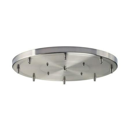 Elk Lighting Illuminare Accessories 8 Light Round Pan in Chrome