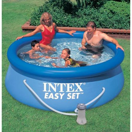 intex 8 39 x 30 easy set swimming pool 330 gph gfci. Black Bedroom Furniture Sets. Home Design Ideas