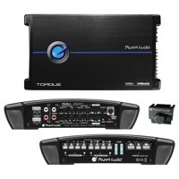 Planet Four-Channel Power Amplifier 600 Watts x 4 Max Power