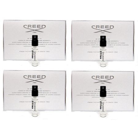 Creed Aventus Vial for Men 0.08 oz 2.5 ml Travel Spray x 4 PCS