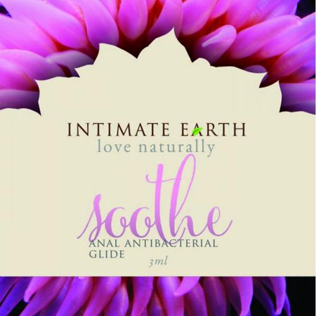 Intimate Earth Soothe Anal Anti Bacterial Glide Foil Pack  10Oz