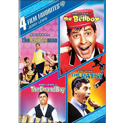 4 Film Favorites: Jerry Lewis - The Ladies Man / The Bellboy / The Errand Boy / The Patsy (Widescreen)