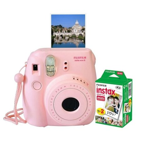 Fuji Photo Film USA 600013291 Instax Mini 8 Camera - Large