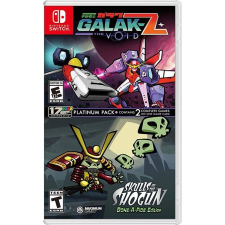 Galak-Z: The Void/ Skulls of the Shogun Bone-A Fide Platinum Pack forNintendo Switch