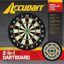 Image of Accudart Competition Dartboard 2 In 1