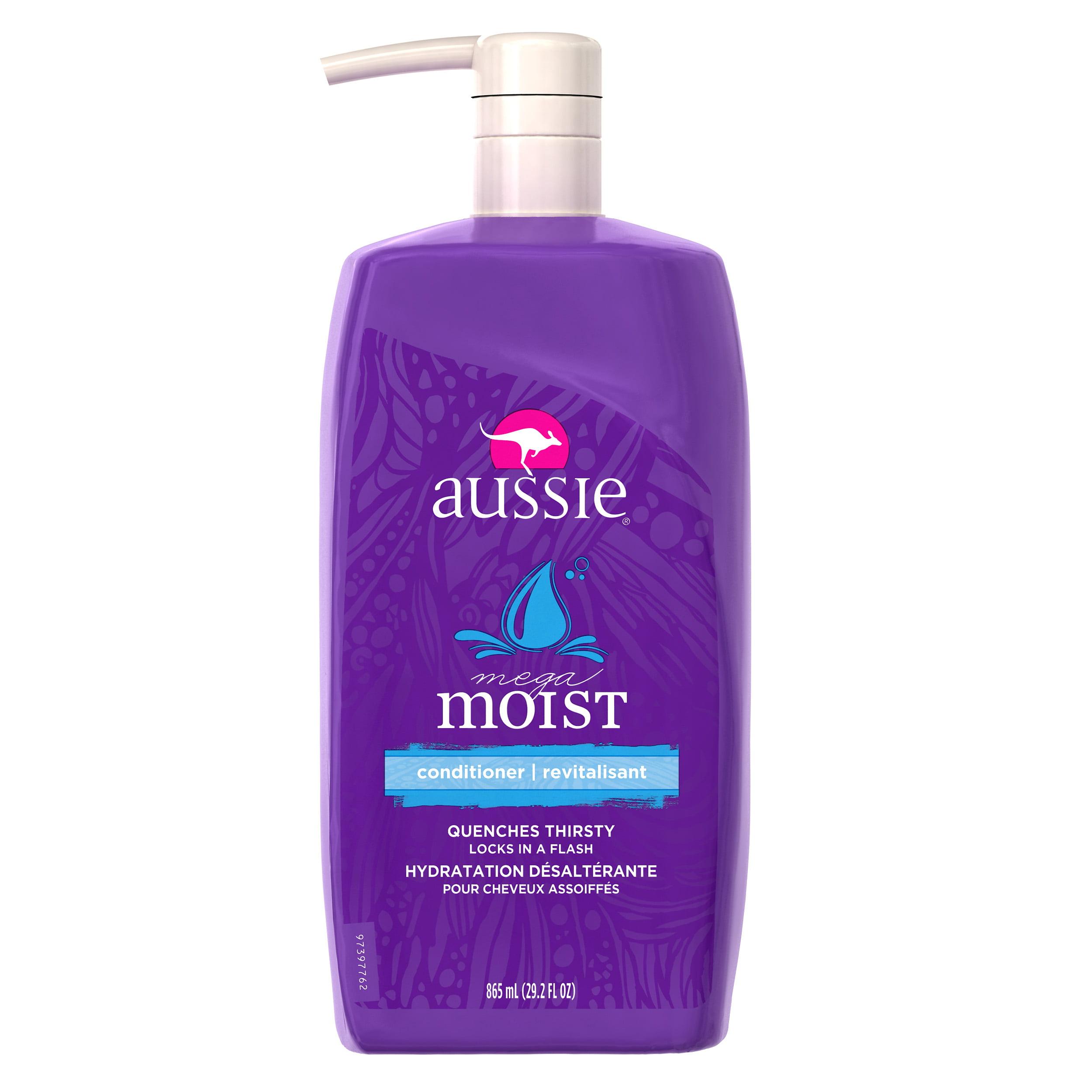 Aussie Mega Moist Conditioner 29.2 fl oz with Pump