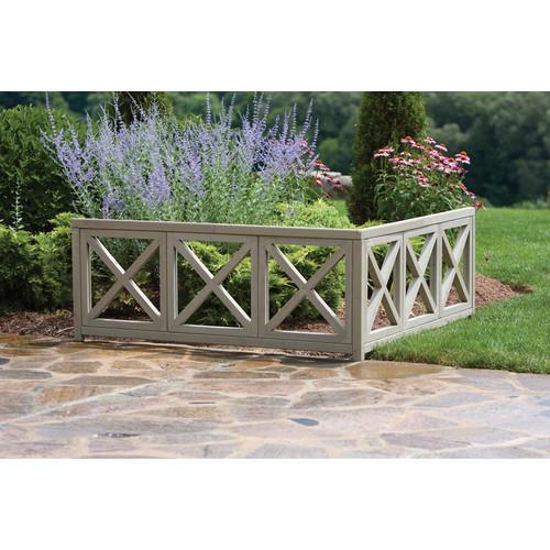 Corner Accent Feature Garden Wall