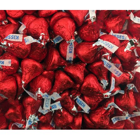: Hershey's Kisses, Milk Chocolate in Red Foil (Pack of 2 Pound) - Hershey Kisses Halloween Recipes