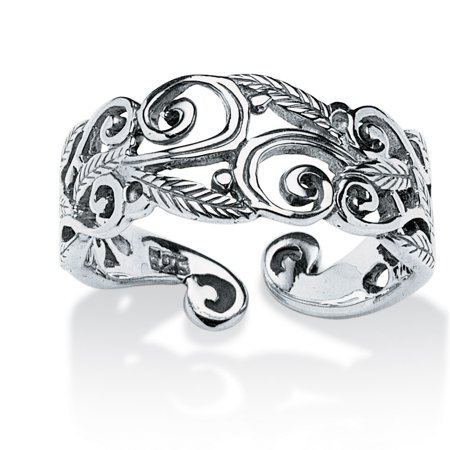 Ornate Scroll Ring in Sterling Silver ()