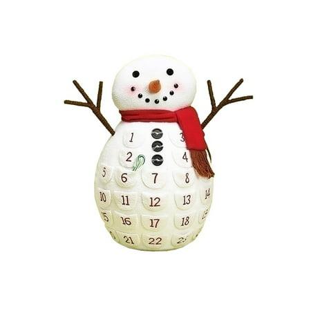 18 snowman christmas countdown advent calendar. Black Bedroom Furniture Sets. Home Design Ideas