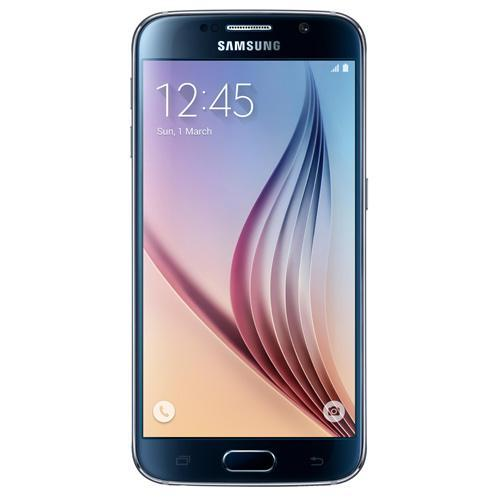 """Samsung Galaxy S6-Black Saphire 5.1"""" Touch Screen-16.0 Megapixel Camera-Android 5.0.2"""