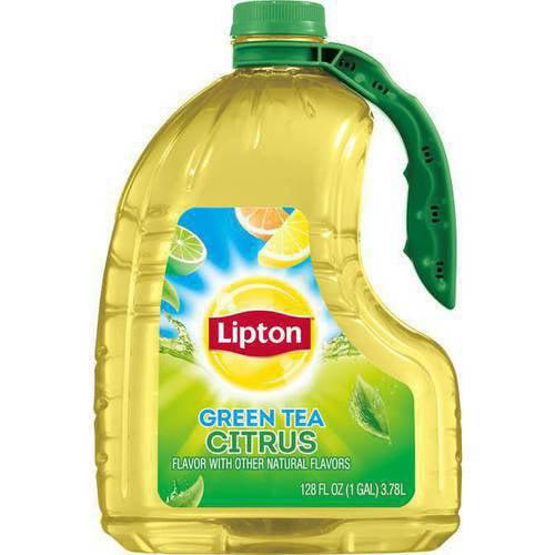 Lipton Citrus Green Tea, 128 fl oz