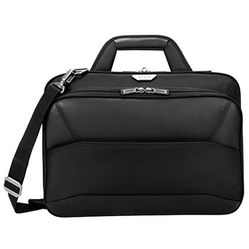 Targus 15.6 Mobile ViP Slim Brief with SafePort Sling Drop Protection Black by Targus