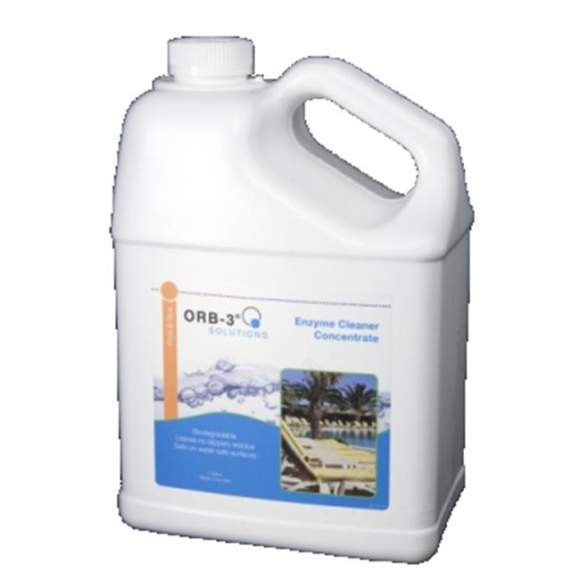 Orb-3 A011-000-1G 1 gal Enzyme Cleaner Concentrate Jug