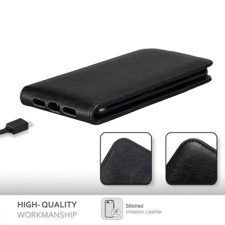 Cadorabo Case for Huawei Y6 2017 / Y5 2017 cover - Flip Style Case with Magnetic Closure - image 1 de 5