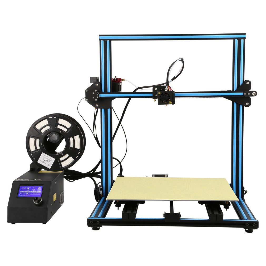 Creality CR-10S 3D Printer Filament Monitor Upgraded With Dual Z Axies Lead Screw Rods And Filament Monitor Large Printing Size 400x400x400mm