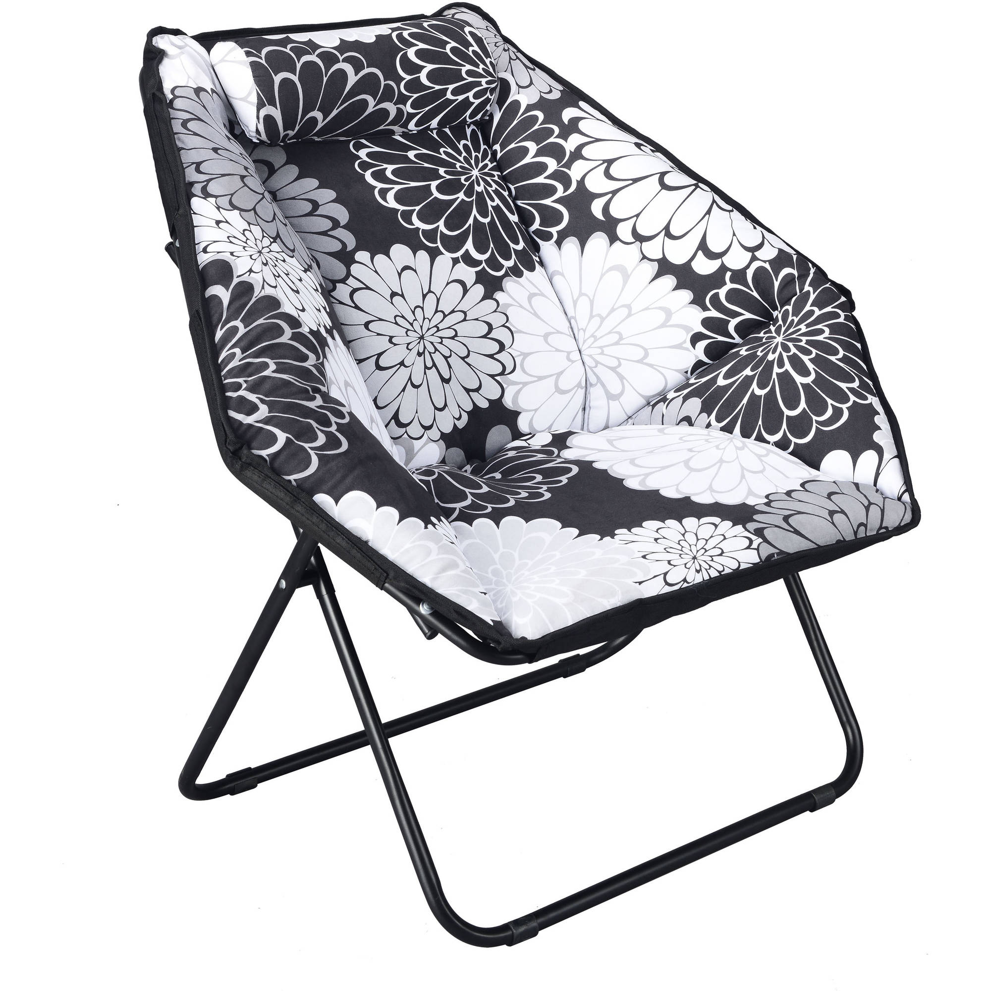 Soft Plush Hexagon Chair, Available in Multiple Colors