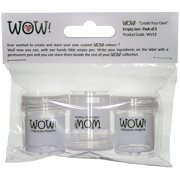 """Wow! """"Create Your Own"""" Empty Jars 3/Pkg-"""