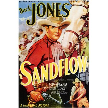 Posterazzi MOVEF5294 Sandflow Movie Poster - 27 x 40 in. - image 1 of 1