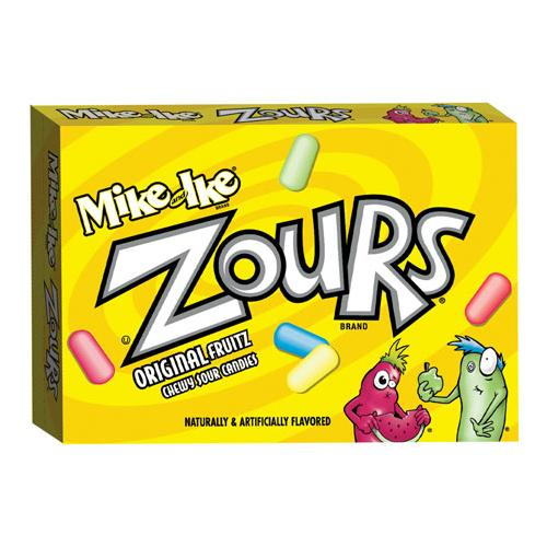Mike and Ike Zours Box 3.6 oz: 12 Count