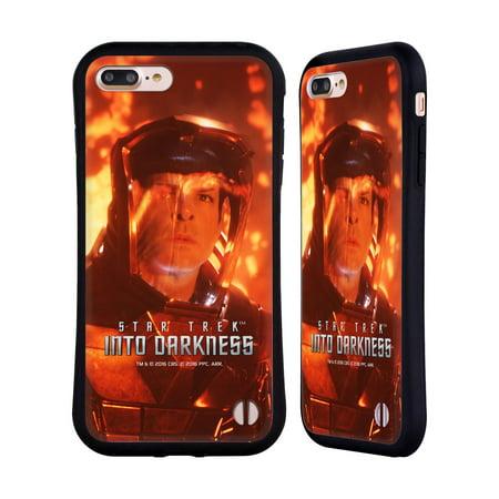 OFFICIAL STAR TREK MOVIE STILLS DARKNESS XII HYBRID CASE FOR APPLE IPHONES PHONES (Star Trek Iphone 4 Case)