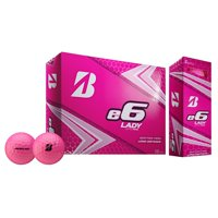 Bridgestone e6 Lady Golf Balls, Pink, 12 Pack
