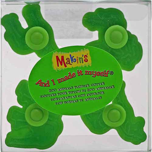 Makin's USA 35005 Clay Plunger Cutter Set, Zoo Animals