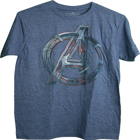The Avengers Age of Ultron Large Avengers Symbol Adult Men's T-Shirt Small - Avengers Symbols