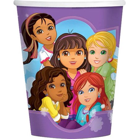 Dora and Friends 9oz Cups (8 Pack) - Party Supplies