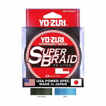SUPER BRAID DARK GREEN 40LB - Performance Braid 300yd Spool