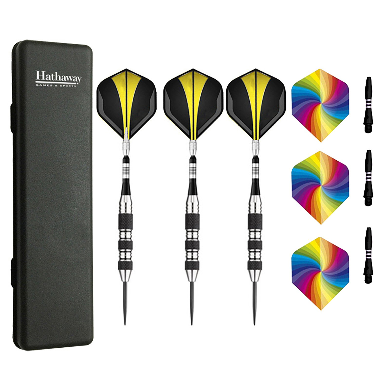 The Tempest Steel Tip Darts, Set of 3