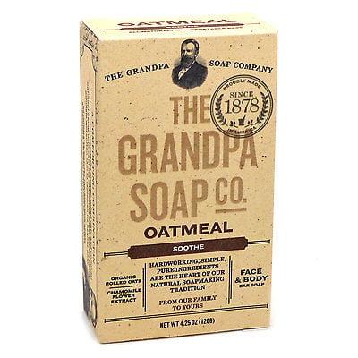 THE GRANDPA SOAP COMPANY OATMEAL SOAP