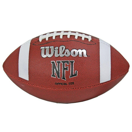 Wilson TDS NFL Official Size 9 Rubber Cover American Sports Football WTF1858