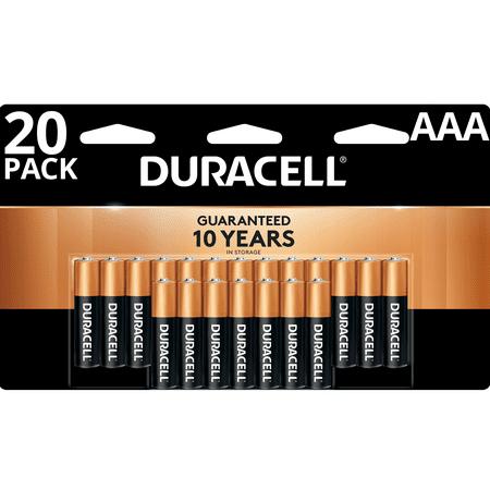 Duracell 1 5v Coppertop Alkaline Aaa Batteries 20 Pack