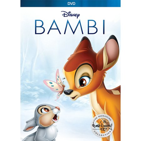Bambi (Anniversary Edition) (DVD) (Peter And The Wolf Disney Cartoon Full)