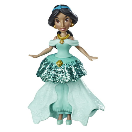 Disney Princess Jasmine Doll with Royal Clips Fashion - Disney Sparkling Princess Jasmine