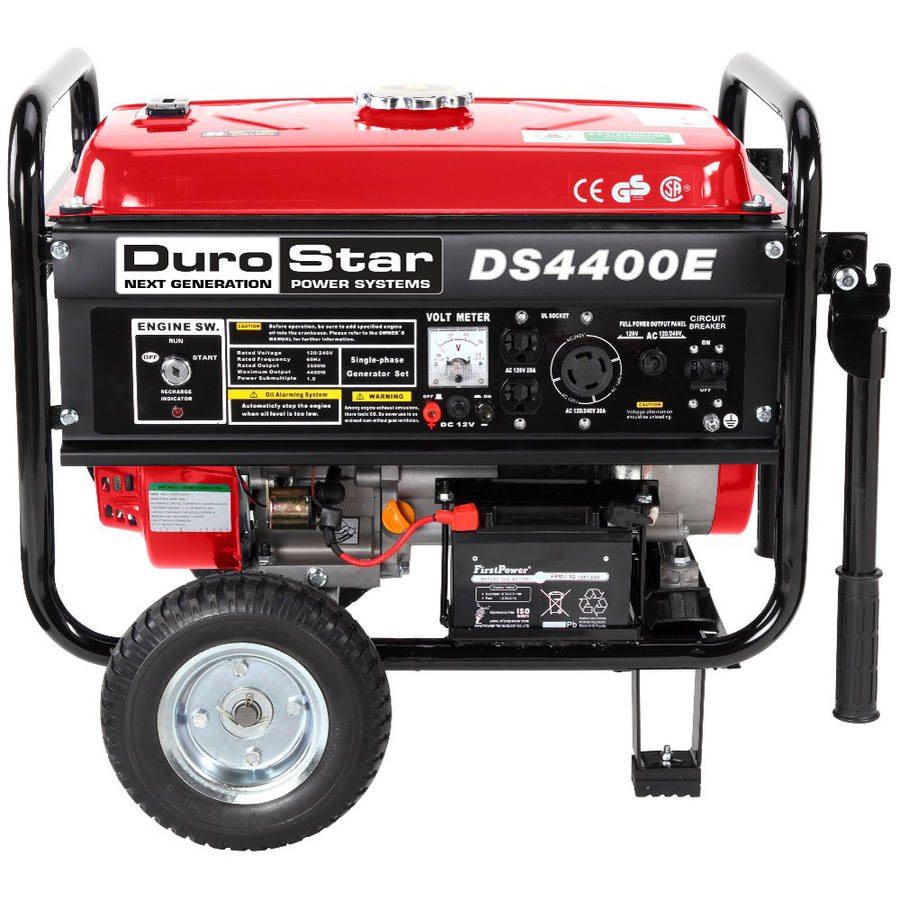 DuroStar 4400/3500W  Electric Start Portable Generator