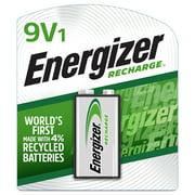 Energizer Rechargeable 9V Battery, 9 Volt Battery (1 Pack)