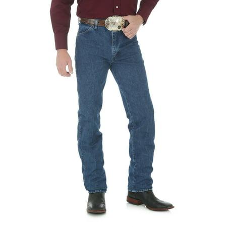 Stonewashed Jeans - Wrangler Men's Western Cowboy Cut Slim Fit Jean - Stonewashed