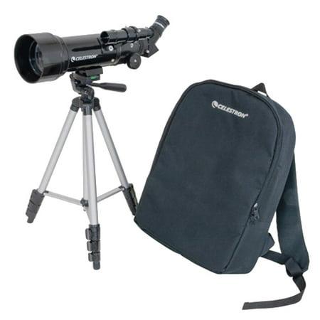 Celestron 21035 70mm Travel Scope w/ 165x Maximum (Best Celestron Binoculars For Astronomy)